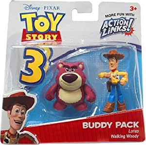 Disney Toy Story 3 Pack de Amigos - Lotso and Walking Woody