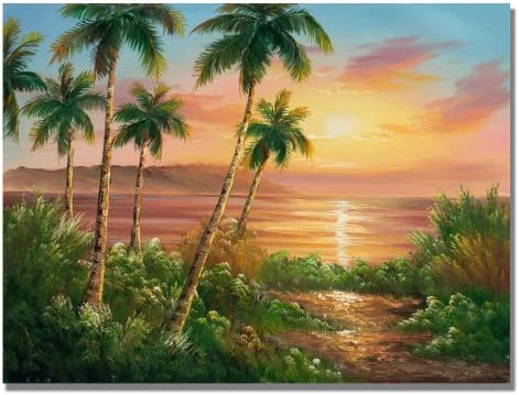 Pacific Sunset Canvas Wall Art