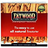 Fatwood Firestarter 9987 0.125 Cubic Feet Fatwood for Fireplace in Color Box, 5-Pound