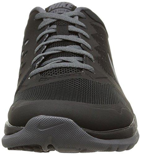 Nike Flex 2015 Rn Scarpe da ginnastica, Uomo Black/Cool Grey-dark Grey