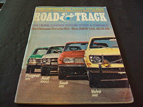 (Road and Track Nov 1972 Volvo 144E, Electronic Ignition B)