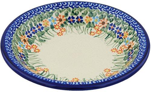 Polish Pottery Pasta Bowl 9-inch (Blissful Daisy) ()