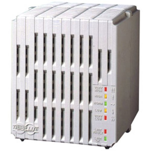Tripp Lite 2400W Mini Tower Line Conditioner - Surge, EMI / RFI, Over Voltage, Brownout protection - NEMA 5-15R, NEMA 5-20R - 110 V AC Input - 2.40 kVA - 2.40 kW - LC2400
