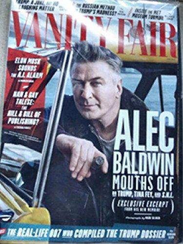 Baldwin Vanity (Vanity Fair April 2017 Alec Baldwin on the cover)