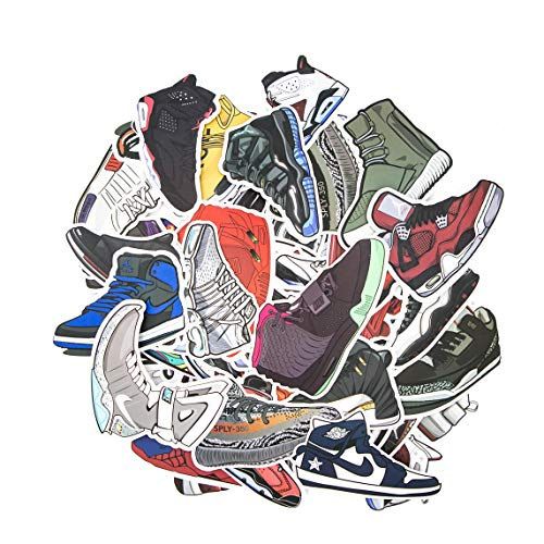 [Pack of 100] Sneaker Stickers - Car, Laptop, Luggage, Skateboard Graffiti