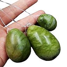 100% natural jade egg for Kegel Exercise pelvic floor muscles vaginal exercise yoni egg ben wa ball