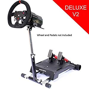 Mad Catz Pro Wheel Stand for Racing Force Feedback Wheel. Stand only, wheel and pedals not included.