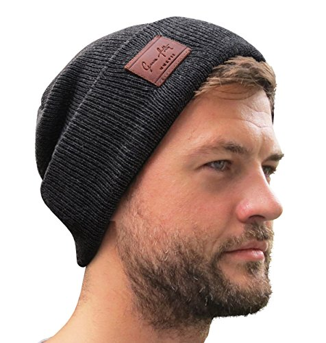 Grace Folly Fold Up Beanie - Cuffed Acrylic Hat Beanies for Women or for Men