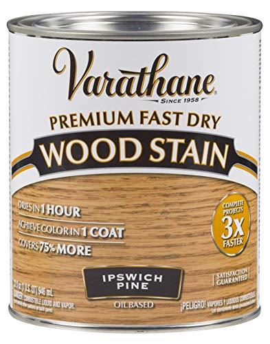 Varathane 262012 Premium Fast Dry Wood Stain, 32 oz, Ipswich Pine