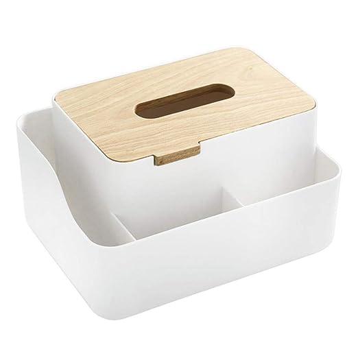 Joyfeel - Caja Cuadrada para Guardar pañuelos, para baño, casa ...