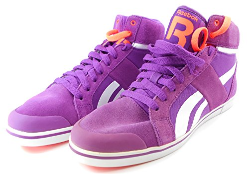 Reebok Damen Sneaker Sportschuhe Ree Funk LC J93170 Aubergine/White 8.5 = EUR 39