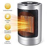 Space Heater, 750W/1500W Personal Heater...