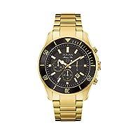 Bulova Men's Black Dial Watch