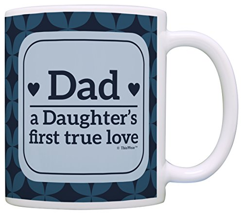 Fathers Gifts Daughters First Coffee