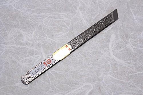 Kiridashi Shirabiki Knife Japanese Woodworking Fujiwara Yasuki White 2 Steel Blade Width 15mm by Fujiwara Japanese knife