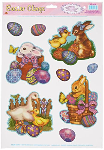 Easter Animal Clings included Accessory
