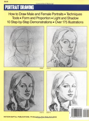 Amazon com portrait drawing a step by step art instruction book artists painting library 9780823040940 wendon blake john lawn books
