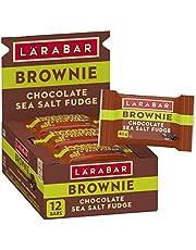 Larabar Gluten Free Brownie with Hemp Seed Chocolate Sea Salt Fudge, 12 Count