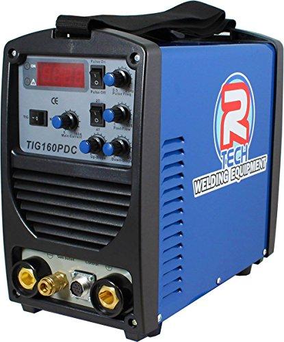 Tig Welder 160A DC Inverter - R-Tech Tig160PDC Package 240v - 3 Year UK...