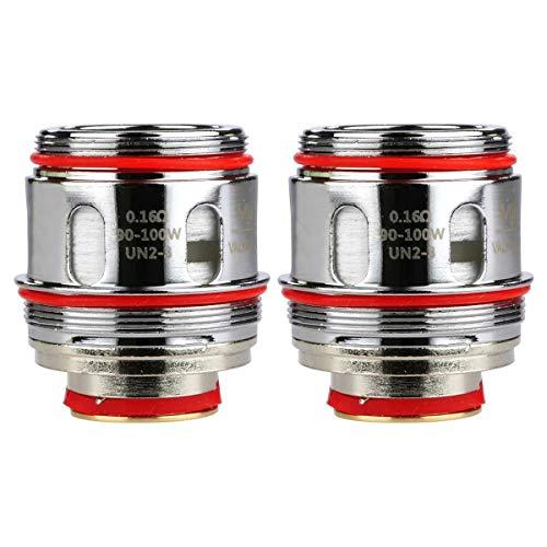 Uwell UN2 Mesh Coils (0,16 Ohm), Verdampferköpfe für e-Zigarette, 2 Stück