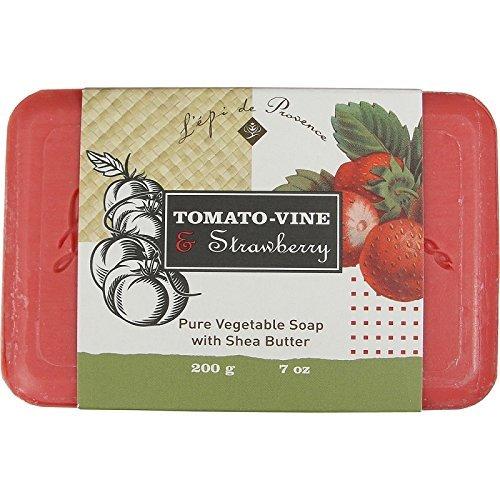L'epi de Provence - Tomato-Vine Strawberry Soap 200 gr. Bar