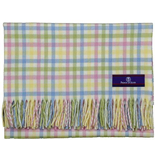 Southampton Home English Stroller Blanket (Pastel Gingham)