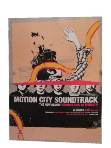 Motion City Soundtrack Poster Commit This To Memory