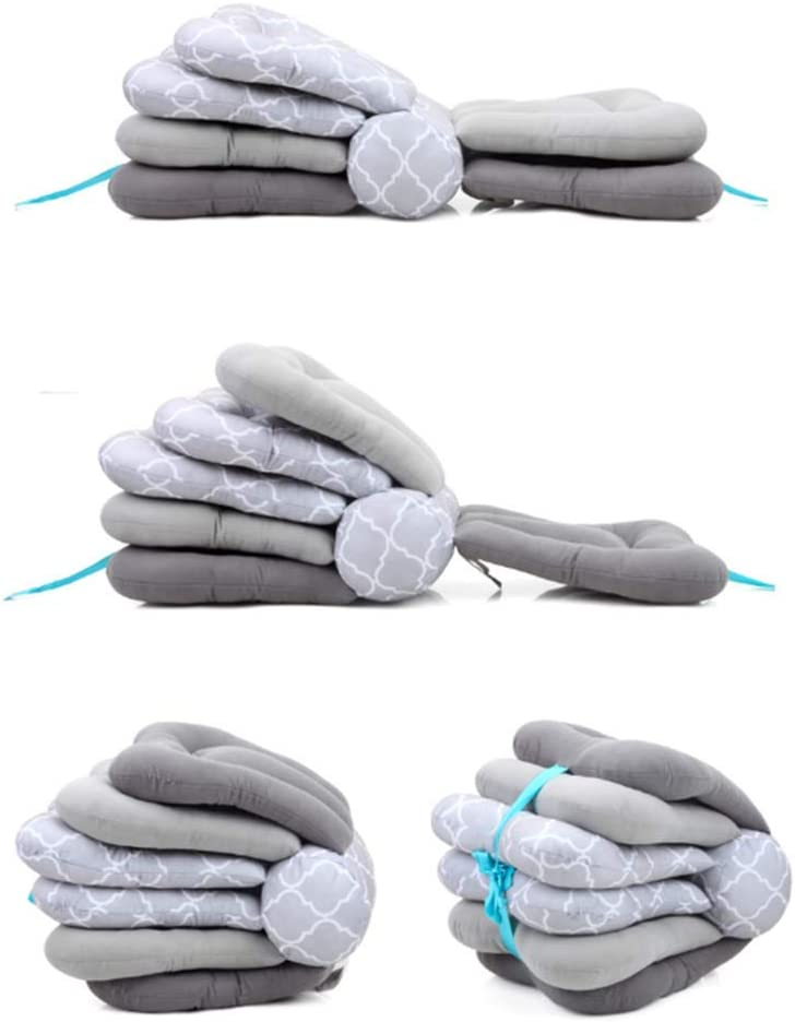 Gray VAE Multi-Function Breastfeeding Pillow Maternity Nursing Pillow,Adjustable Height