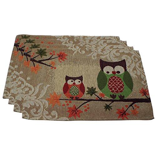 Owl Deluxe Kitchen Linen Set Deluxe Tapestry 4