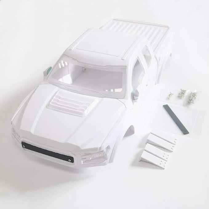 JTAccord RC Racing Ford Raptor Hard Body Truck Body Shell ...