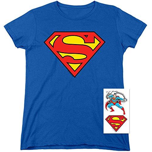 Women's Superman Classic Logo T Shirt -