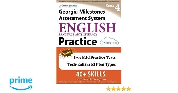 Georgia Milestones Assessment System Test Prep: Grade 4 English ...