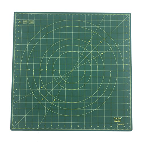 DAFA 360° Rotating Self Healing Cutting Mat 18'' x 18'' Similar to OLFA by DAFA