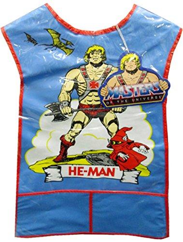 He-Man Plastic Painting Smock Bib (Size Medium)