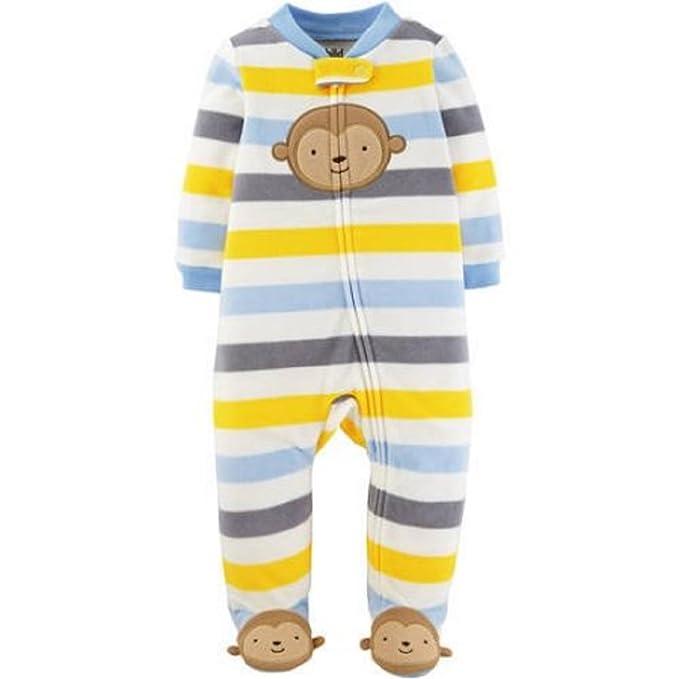 80bb1668b Amazon.com  Child of Mine by Carter s Newborn Baby Boy Zip Up ...