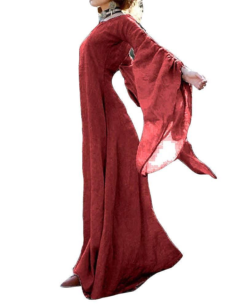 GladiolusA Vestido De Retro Medieval Renacentista Mujeres ...