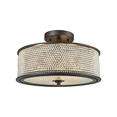 Elk Lighting 15970/3 Close-to-Ceiling fixtures, Bronze