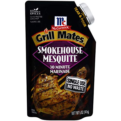 - McCormick Grill Mates 30 Minute Marinade Smokehouse Mesquite, 5 oz (Pack of 6)
