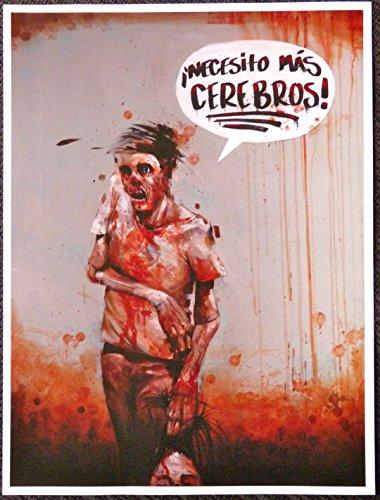 Dawn of the Dead - Necesito Mas Cerebros! - Movie Art Mini Poster