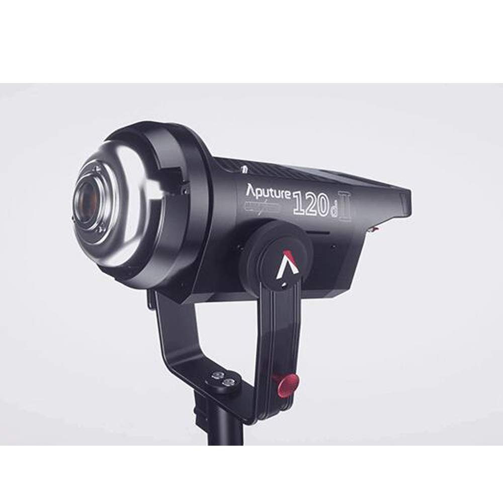 Aputure Light Storm LS C120d II COB 120D Mark 2 + Fresnel mount 180W 5500K LED Continuous Video Light CRI96+ TLCI97+ Bowens Mount,the Ultimate Upgrade,Support DMX,5 Pre-programmed Lighting Effects by Aputure (Image #4)