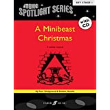 A Minibeast Christmas: Book and CD