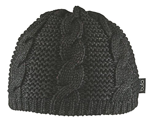 Bula Black Beanie (BULA Women's Lulu Beanie, Black, One Size)