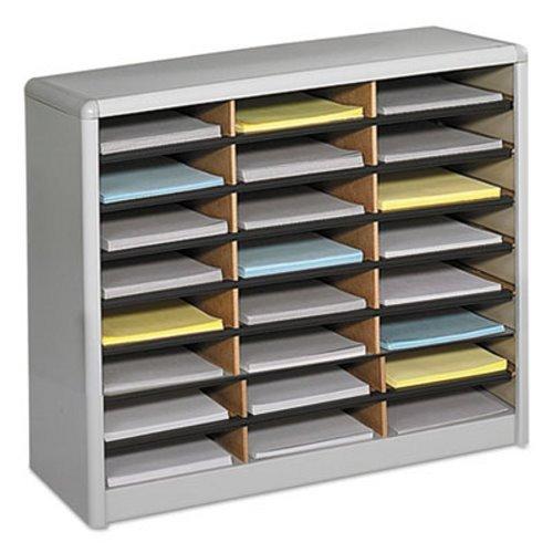 SAF7111GR - Safco 24 Compartments Value Sorter Literature ()