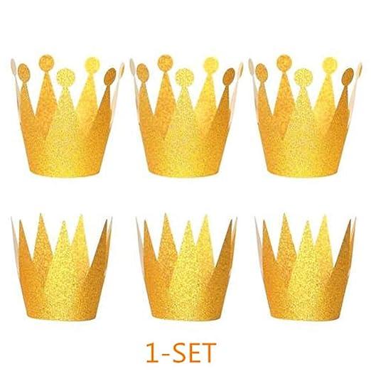 KFYOUXIN Sombrero de Papel El Príncipe de la Corona ...