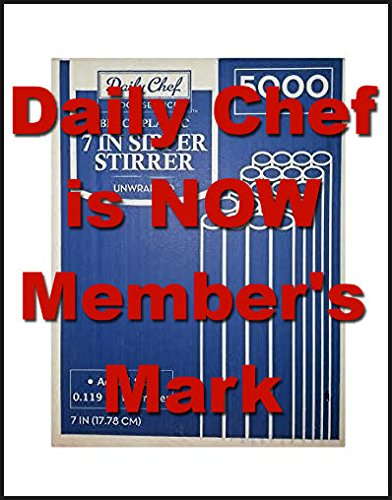 Daily Chefs Sipper Stirrers 7in//5000ct COMINHKPR91374