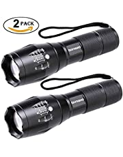 Binwo LED Torch - Super Bright 2000 Lumen Torch, Tactical Torch Powerful Torch Ideal for Hiking, Camping or Outdoor Activities