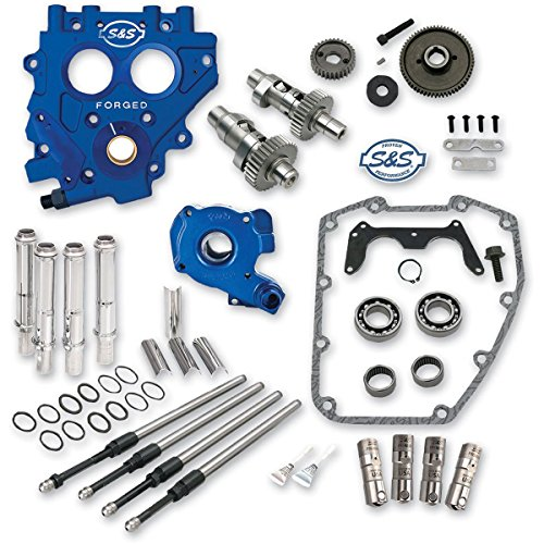 Plate Harley Support Cam (S&S Cycle Cam Chest Kit Gear Drive 585GE Fits 99-06 Twin Cam)
