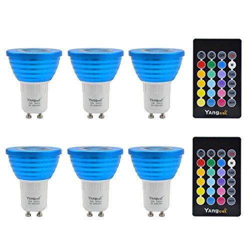 Gu10 Led Colour Changing Light Bulbs