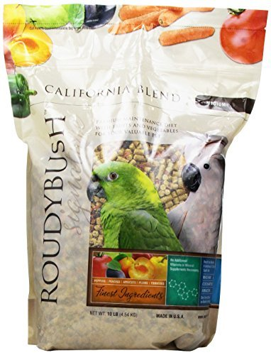 Roudybush California Blend Bird Food, Medium, 10-Pound by RoudyBush by Roudybush, Inc.