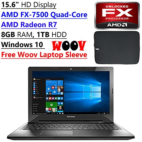 Lenovo Z50 15.6 Inch HD Laptop PC with Woov Laptop